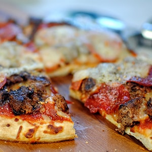 Personal Burger Pizzas – Classic